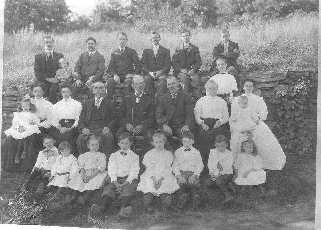 Wilcox family of Putnam CT. circa 1912